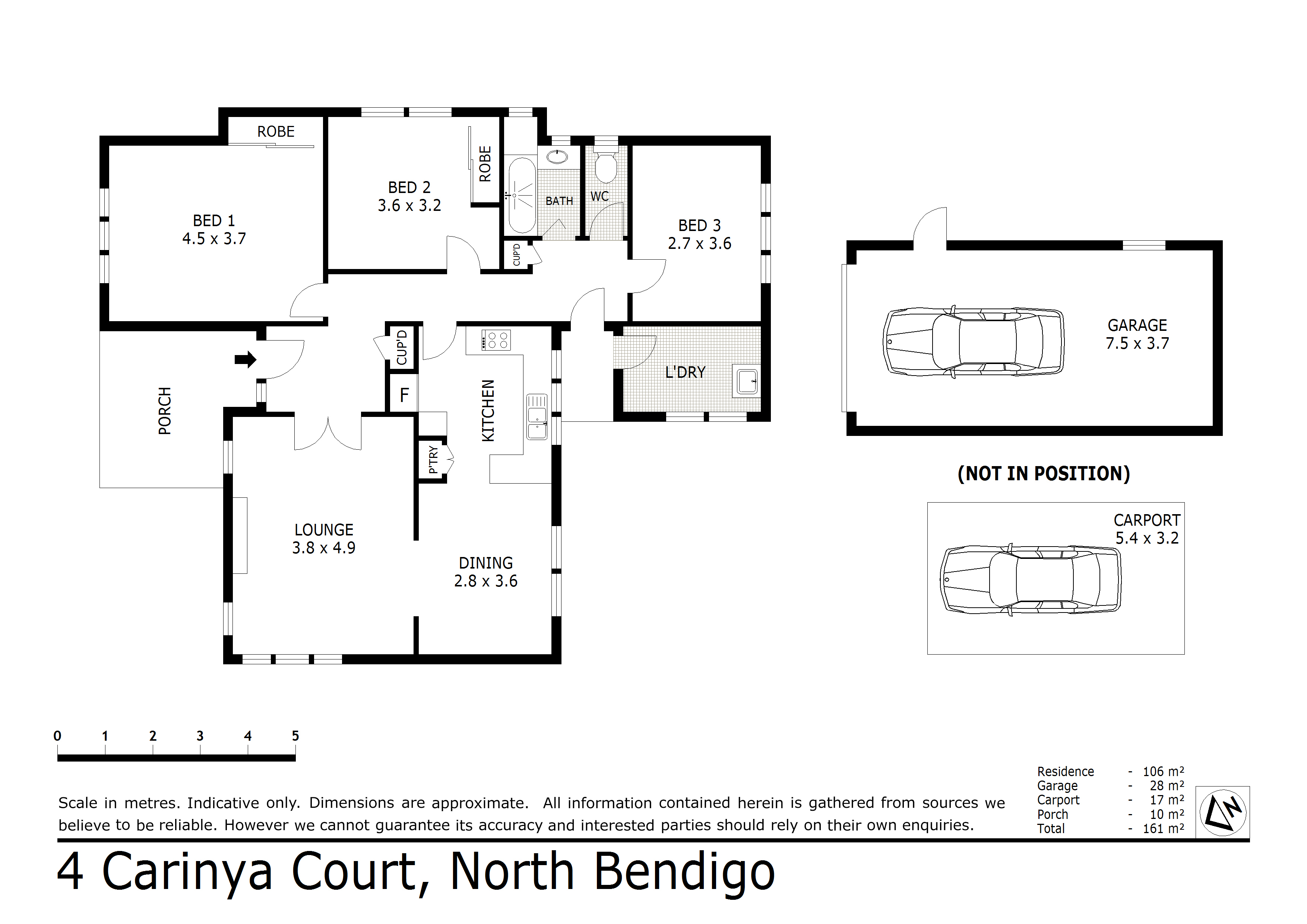 4 Carinya Court, North Bendigo, VIC 3550