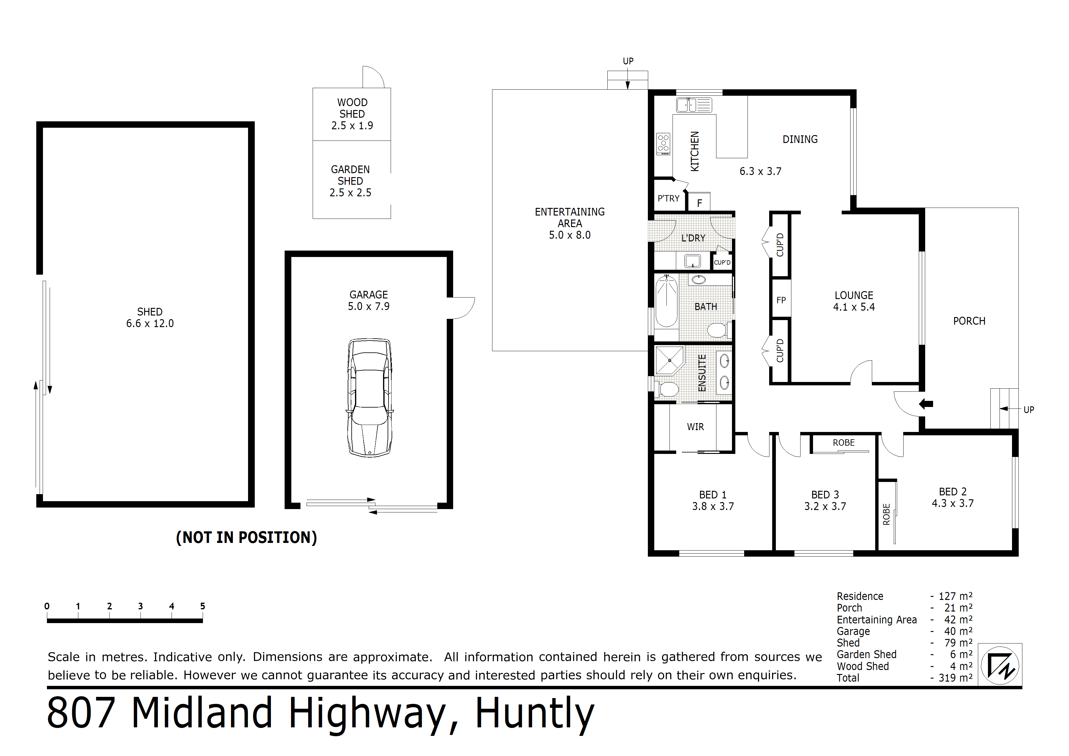 807 Midland Highway, Huntly, VIC 3551