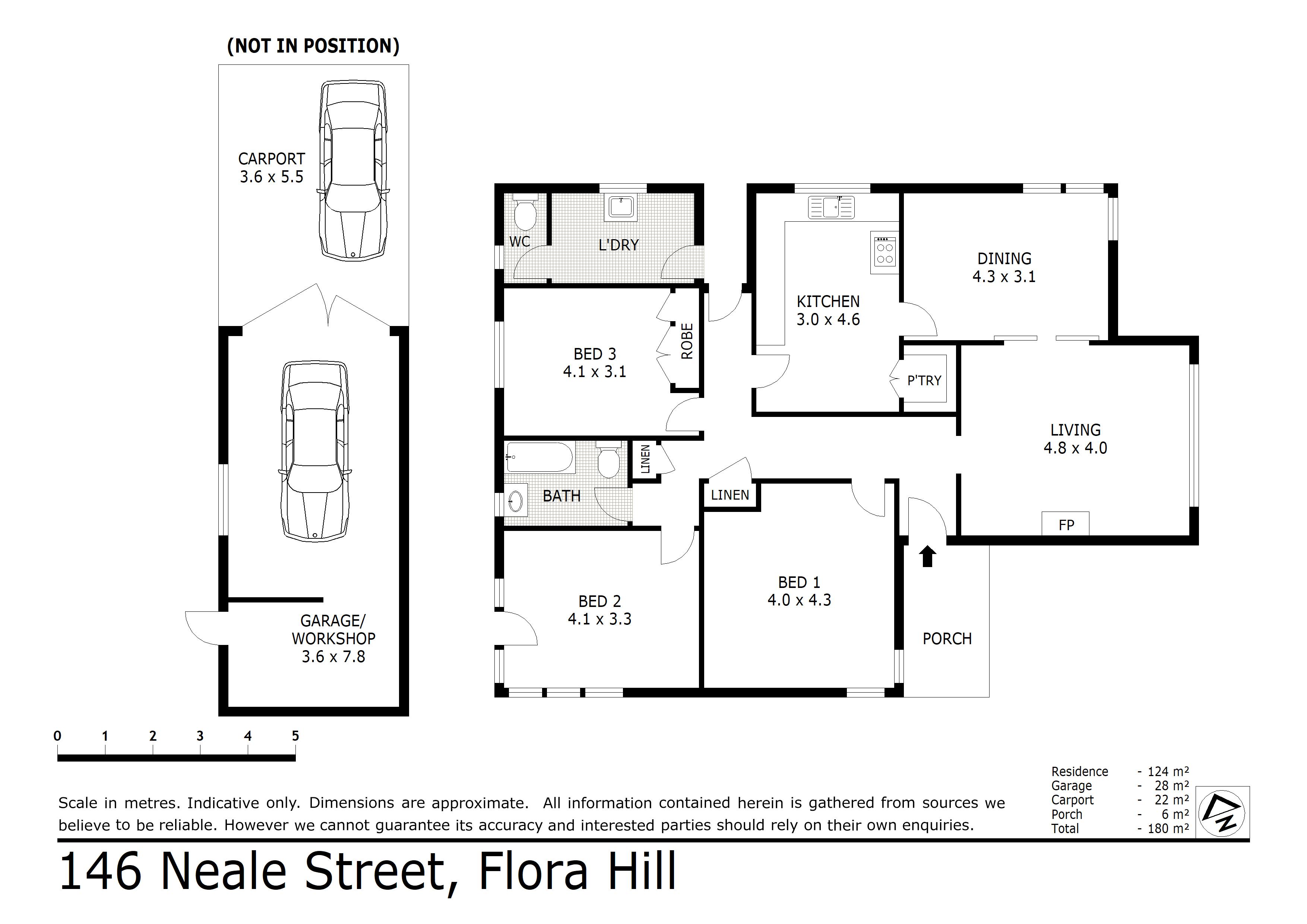 146 Neale Street, Flora Hill, VIC 3550