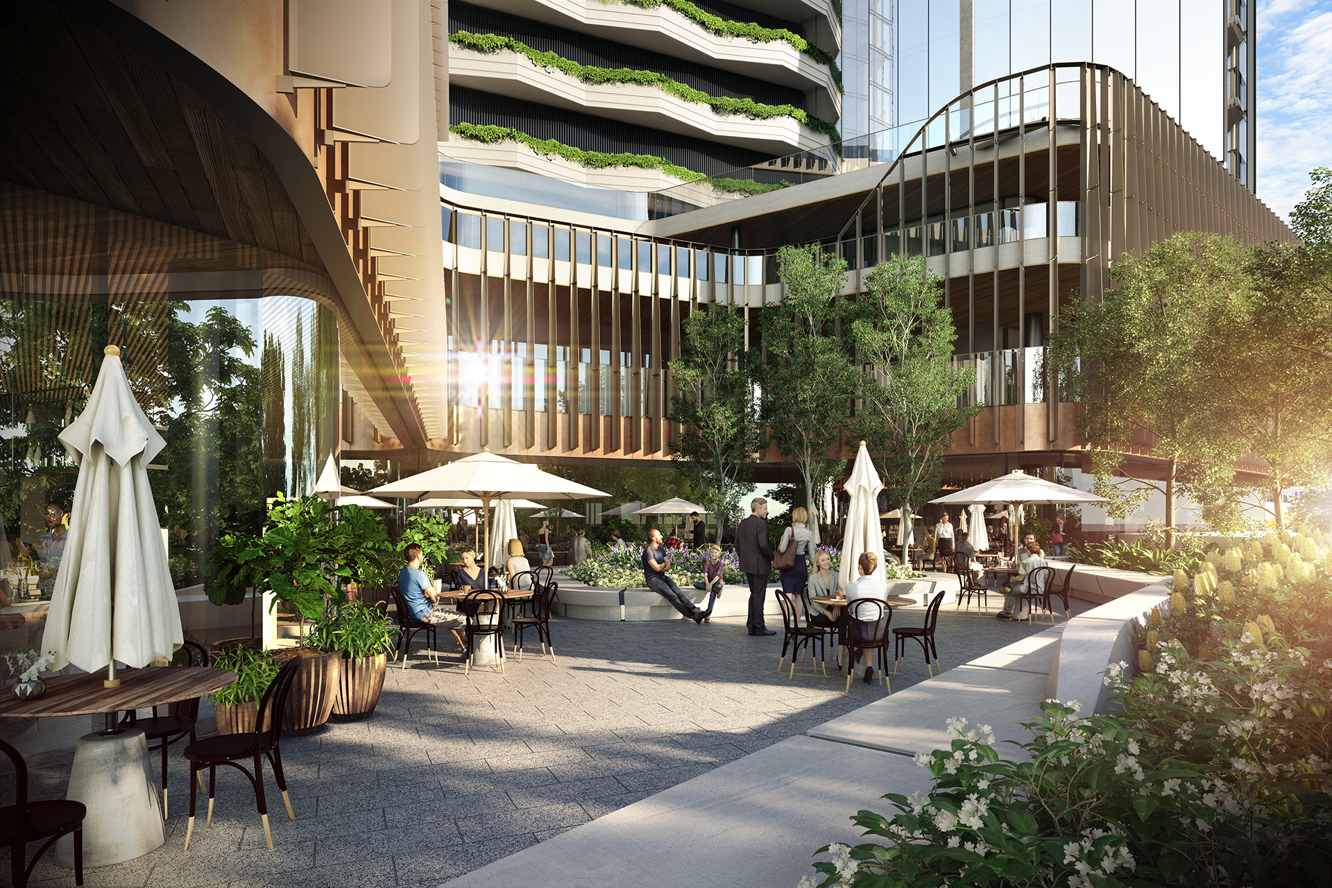 OSKH9386 Melbourne Square ER01 Retail Laneway