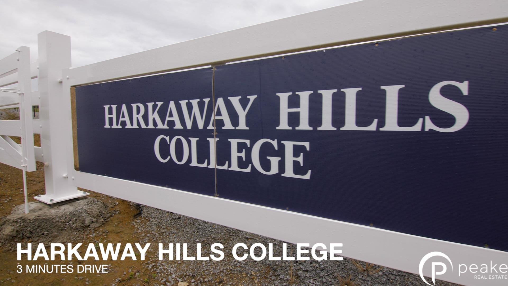 Harkaway Hills Text