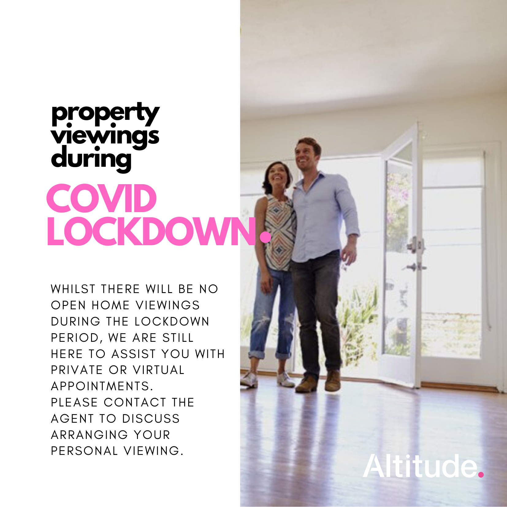 Property Viewings during COVID Lockdown