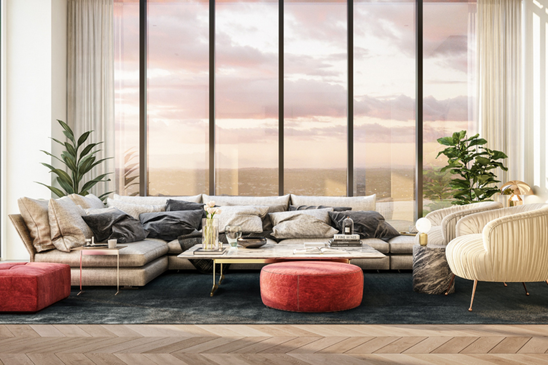 51 Albert Living Room