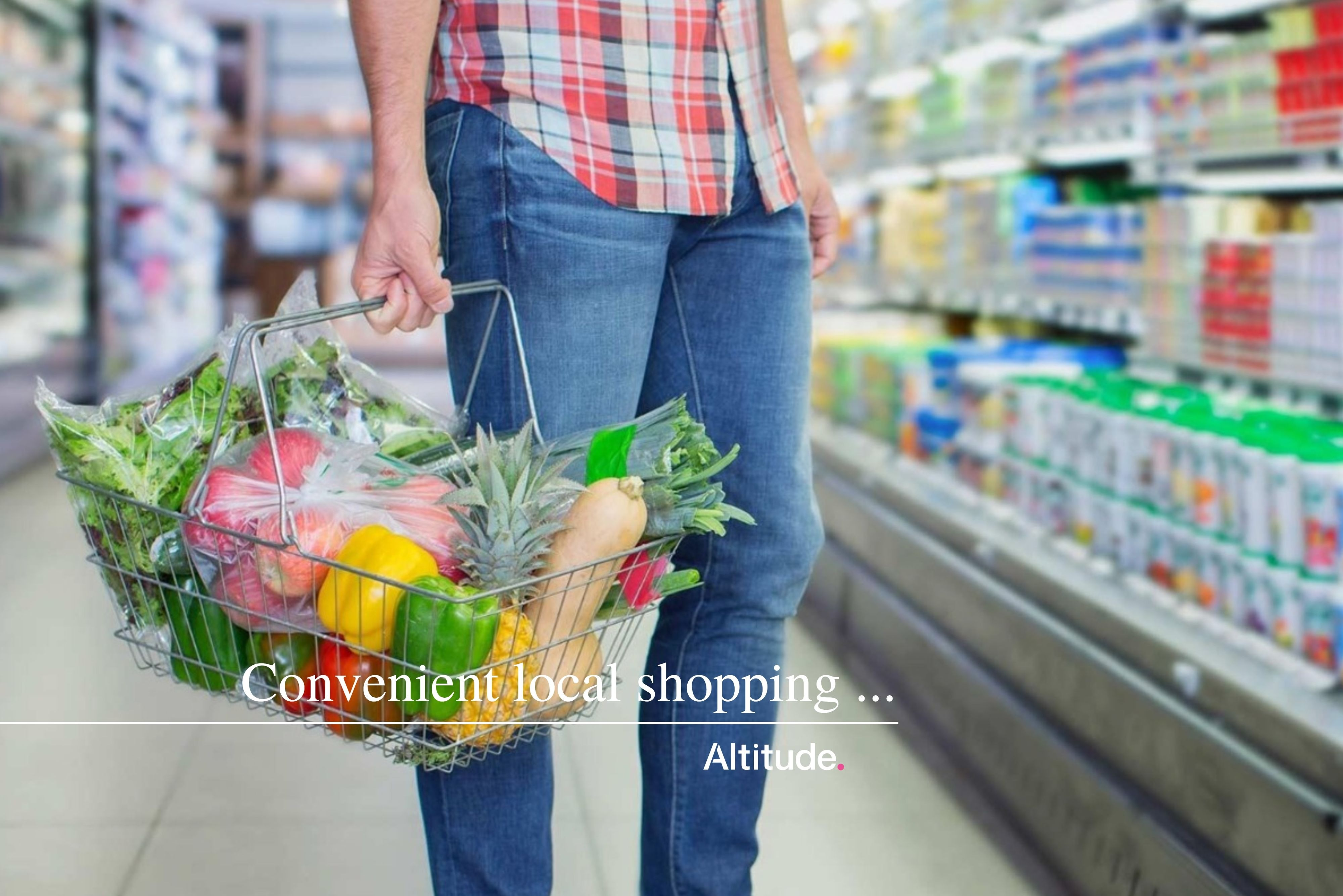 Leasing Campaign Image   Convenient Local Shopping