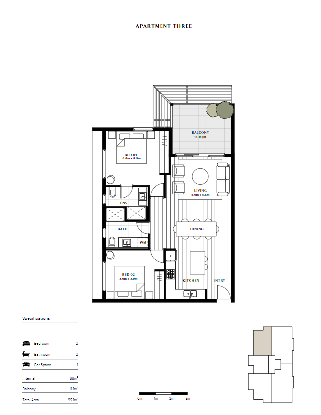 Aspire   Apartment 3