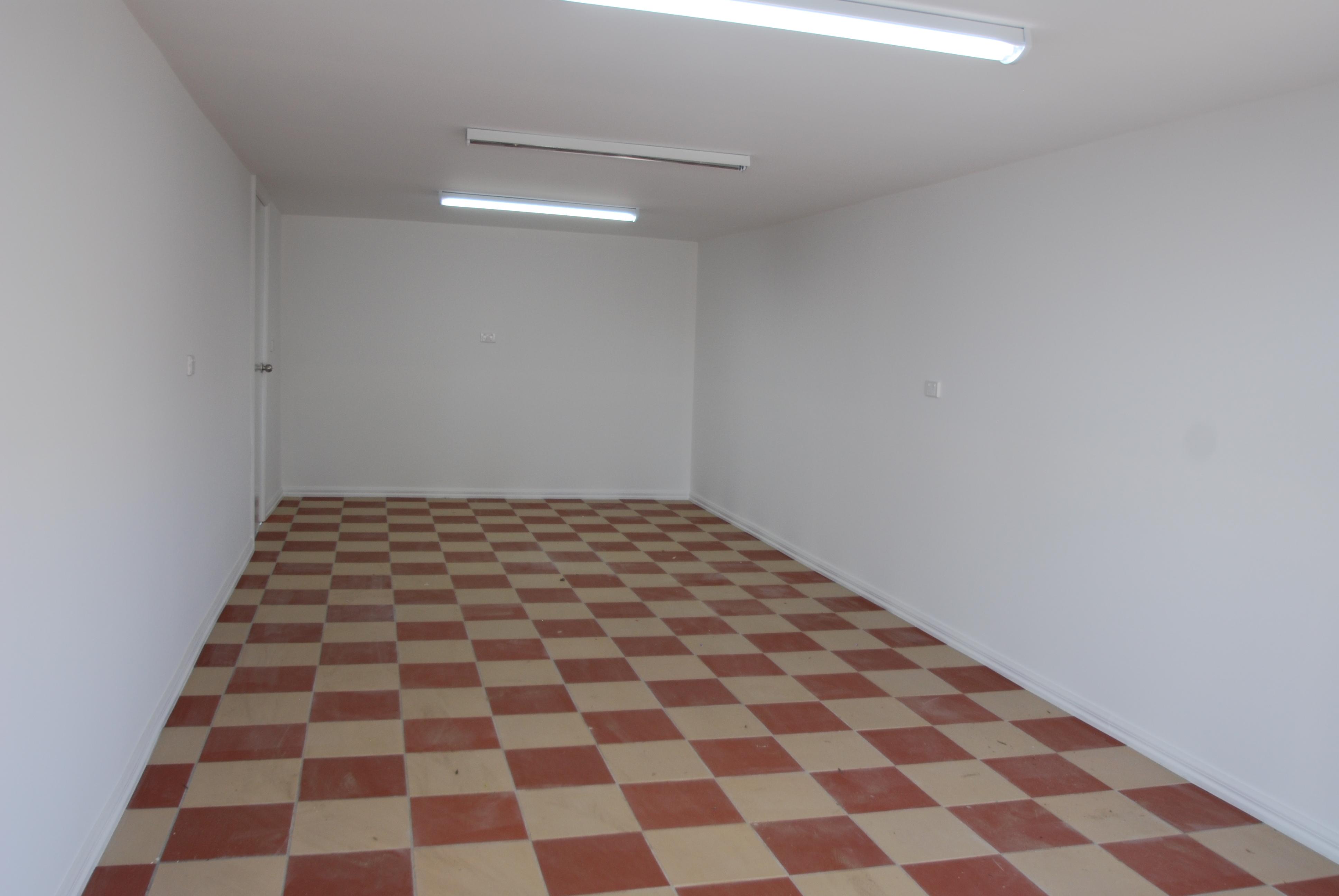 Tiled Garage