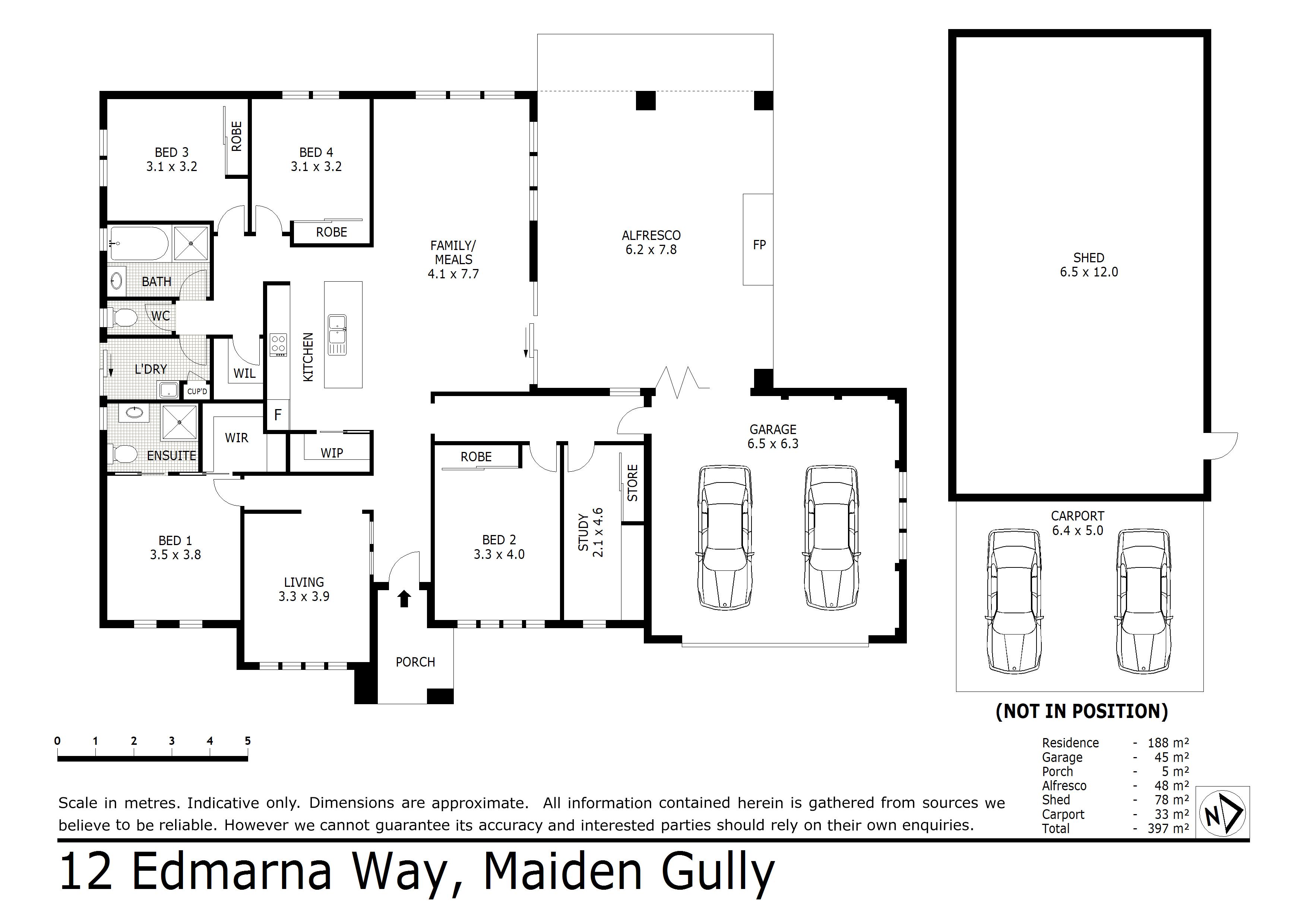 12 Edmarna Way, Maiden Gully, VIC 3551